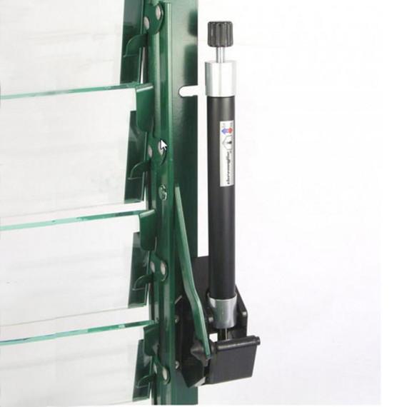 automatischer fenster ffner f r lamellenfenster universal. Black Bedroom Furniture Sets. Home Design Ideas