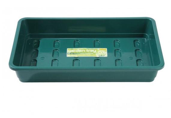 Anzuchtschale ungelocht grün 37 x 23 x 6cm