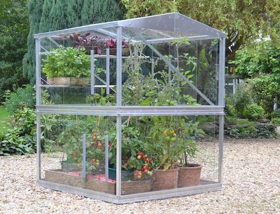tomatenhaus big aus glas gew chshausplaza. Black Bedroom Furniture Sets. Home Design Ideas