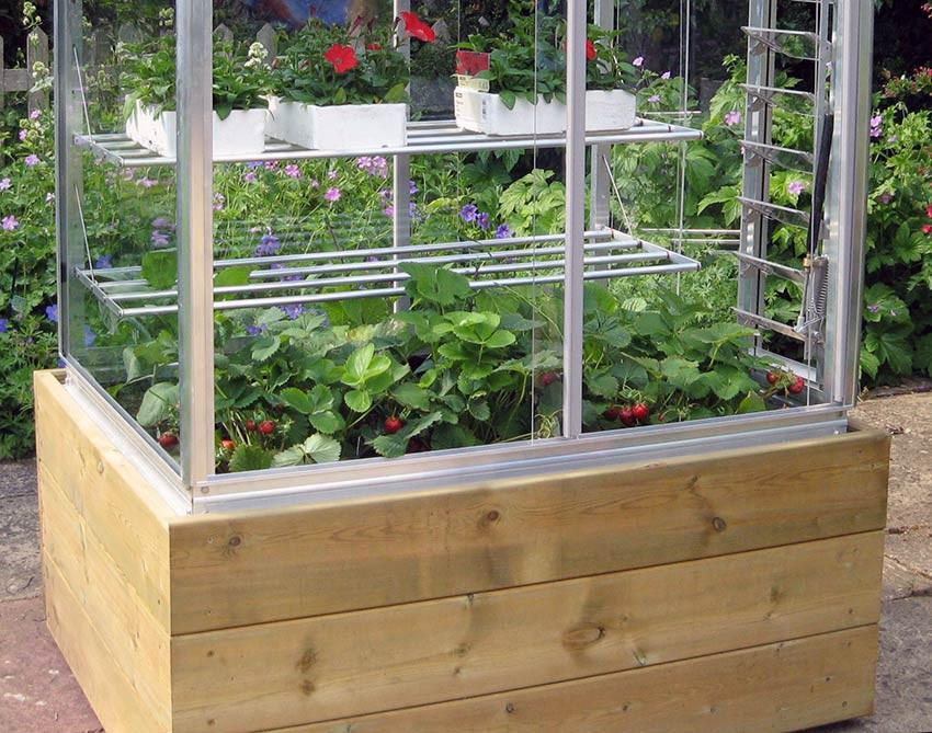 Hochbeet-Unterbau für Access Growhouses & Coldframes