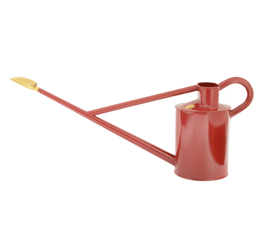 Haws Gießkanne Professional Long Reach Burgund Rot 8,8 L