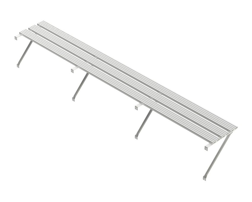 Robinsons Regal 3-lattig Blank Aluminium 6826 mm