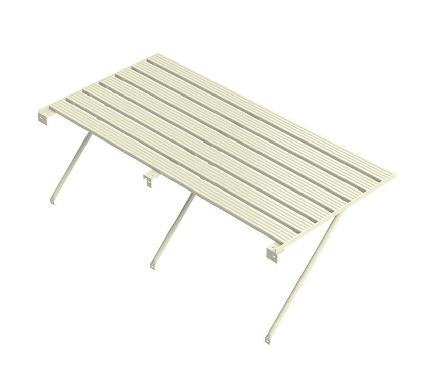 Robinsons Tisch 10-lattig 4346 mm