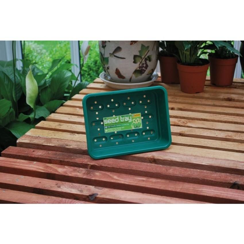 Anzuchtschale gelocht grün 23 x 17 x 6 cm