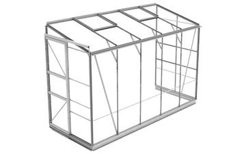 Anlehngewächshaus ECO | Plus L4 inkl. Sicherheitsglas und Fundament