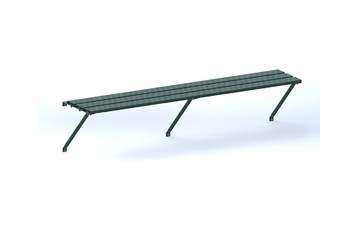 Robinsons Pflanzregal 3-lattig 387 cm