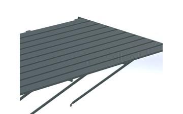 Robinsons Tisch 10-lattig 2486 mm
