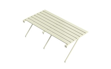 Robinsons Tisch 7-lattig 5586 mm