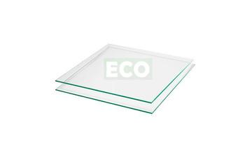 5 St. klares Glas 610 x 500 mm (3 mm ESG)