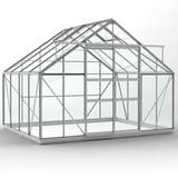 Gewächshaus ECO | Plus 315 blank - 253cm lang