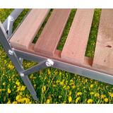 Aluminium mit langlebigem Zedernholz