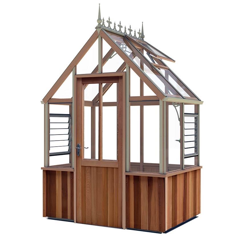 Beliebt Gewächshaus Denstone Victorian - Zederngewächshaus im AM49
