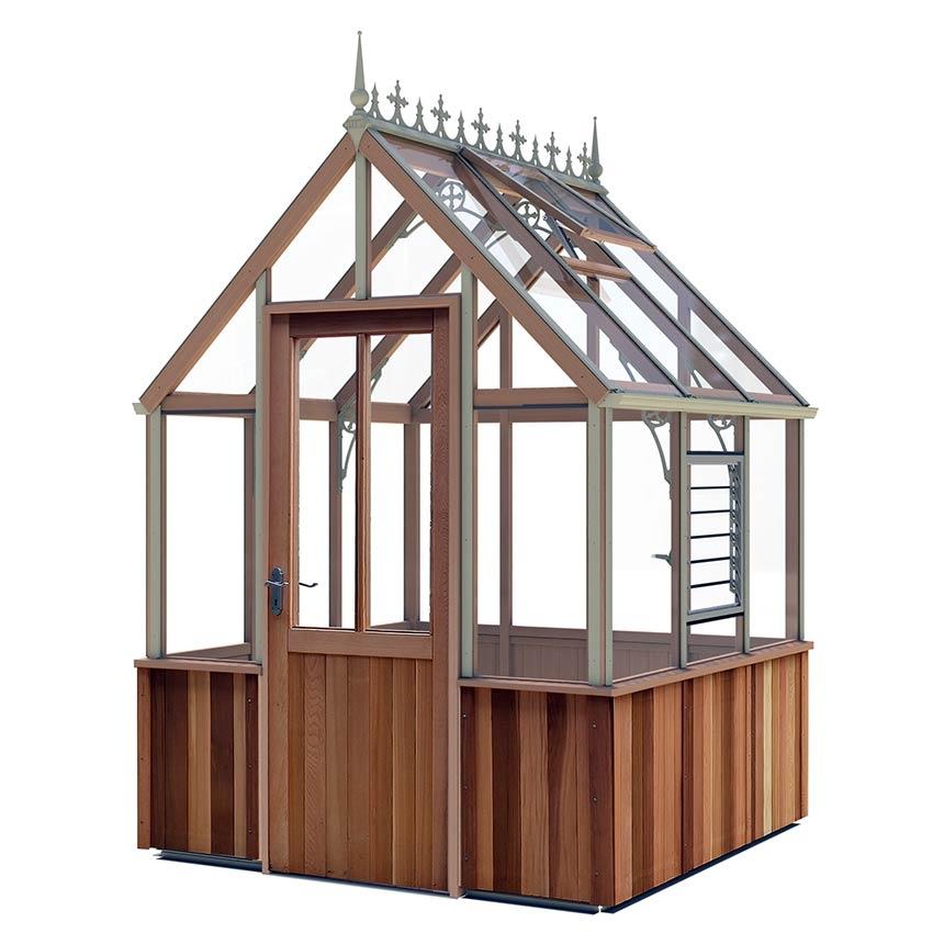 gew chshaus denstone victorian zederngew chshaus im. Black Bedroom Furniture Sets. Home Design Ideas