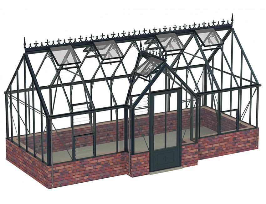 viktorianisches gew chshaus rushby bei gew chshausplaza. Black Bedroom Furniture Sets. Home Design Ideas